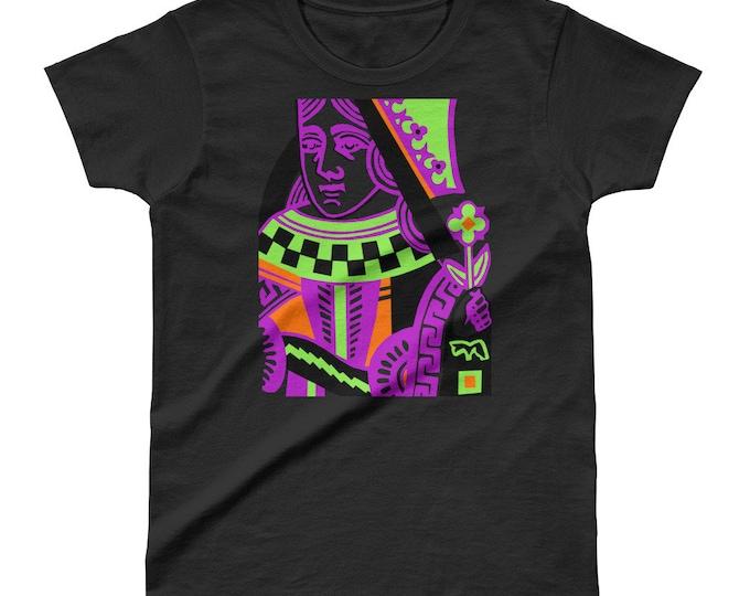 WKiD Ladies' T-Shirt   Queen of Hearts