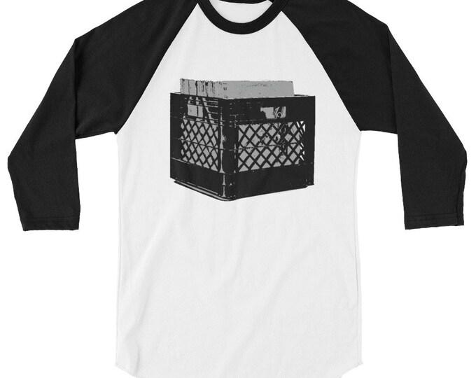 WKiD 3/4 sleeve raglan shirt | Record Crate
