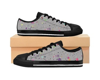 WKiD Men's Sneakers | Paint Splatter