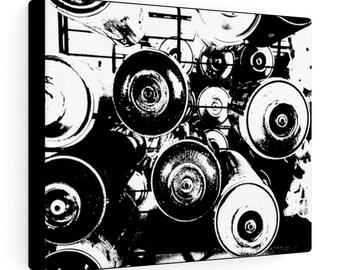 WKiD Canvas Print | Graffiti Cans