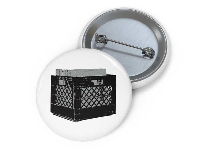 WKiD Button | Record Crate