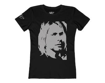 WKiD Women's Tee   Kurt Cobain