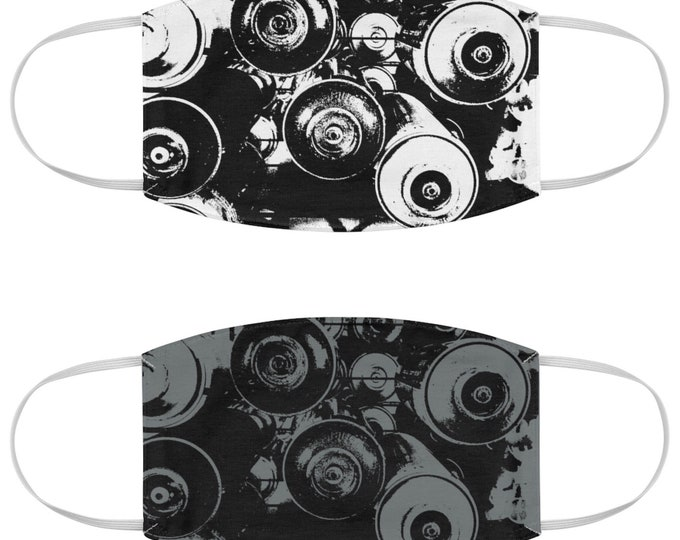 WKiD Fabric Face Mask | Graffiti Cans 2pk