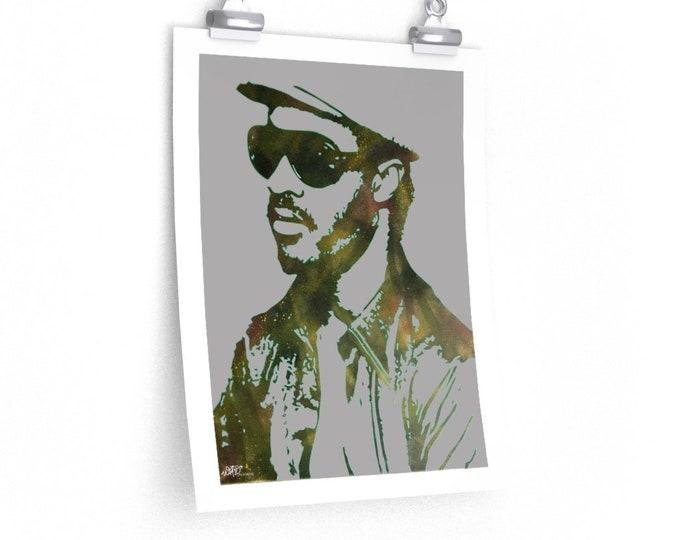 WKiD Premium Matte Print | Stevie Wonder