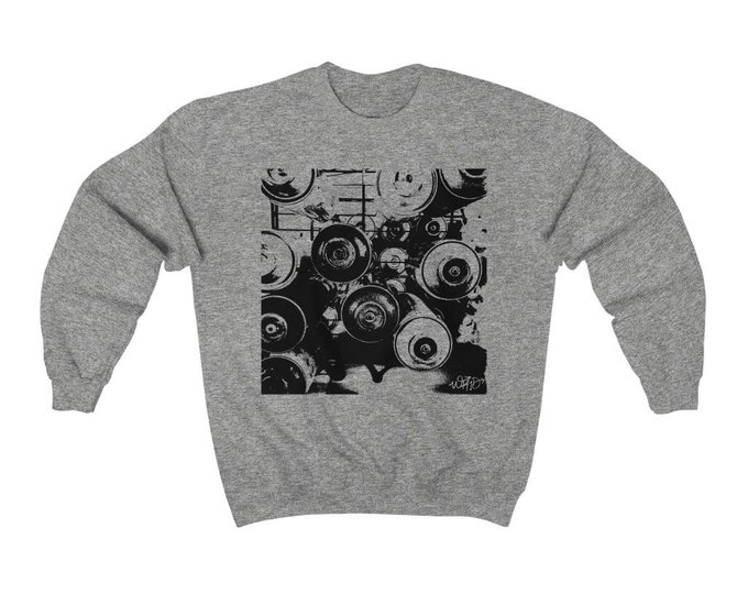 WKiD Sweatshirt   Graffiti Cans