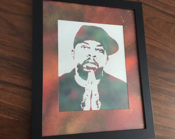 Phife Dawg Framed Print