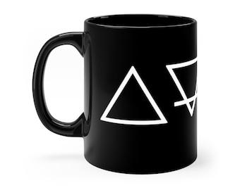WKiD Black Mug | Alchemy Symbols