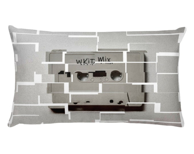 WKiD Pillow | Mix Tape