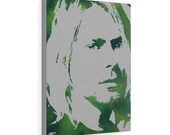 WKiD Canvas Print | Kurt Cobain