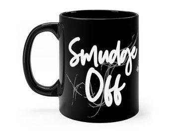 WKiD Black Mug | Smudge Off