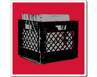 WKiD Magnet | Record Crate
