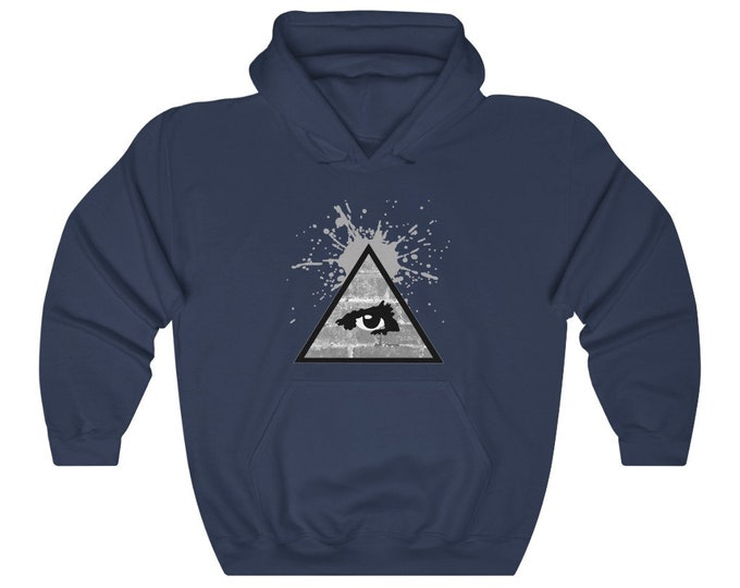 WKiD Hooded Sweatshirt | Third Eye/Illuminati