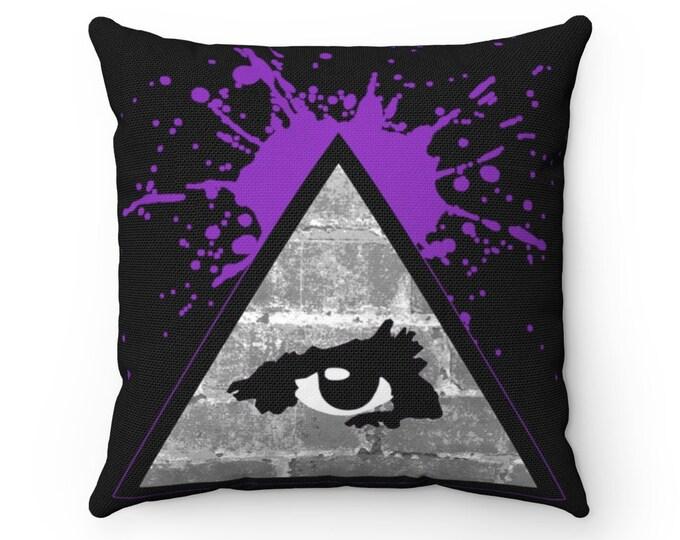 WKiD Pillow   Third Eye/Illuminati (Purple)