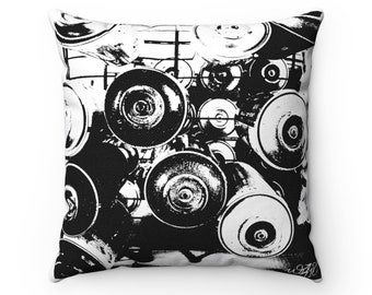 WKiD Pillow | Graffiti Cans