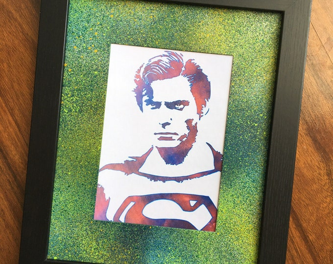 Superman | Christopher Reeves Framed Print 5x7
