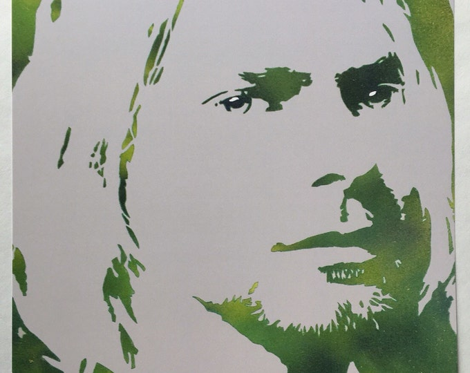 Kurt Cobain | Nirvana  8x10 PRINT