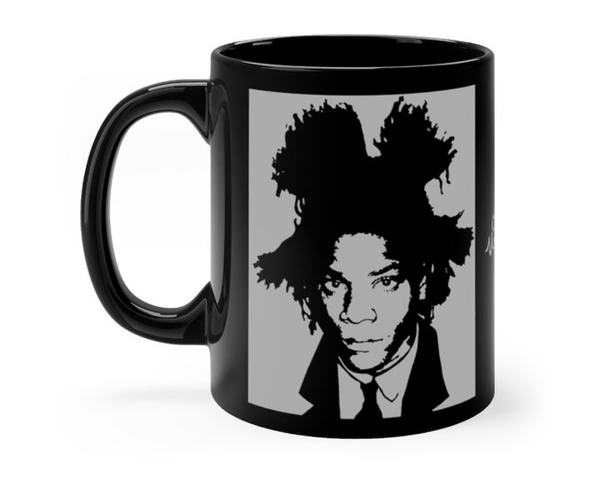 WKiD Black Mug | Basquiat