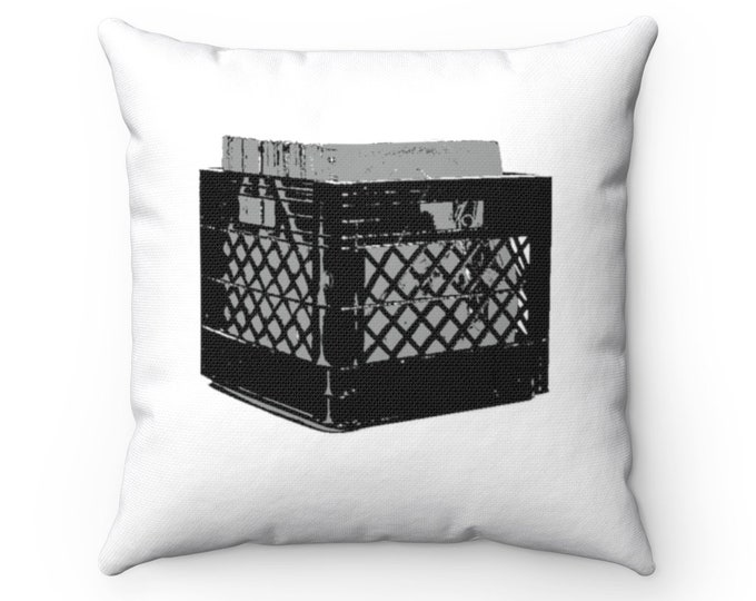 WKiD Pillow   Record Crate