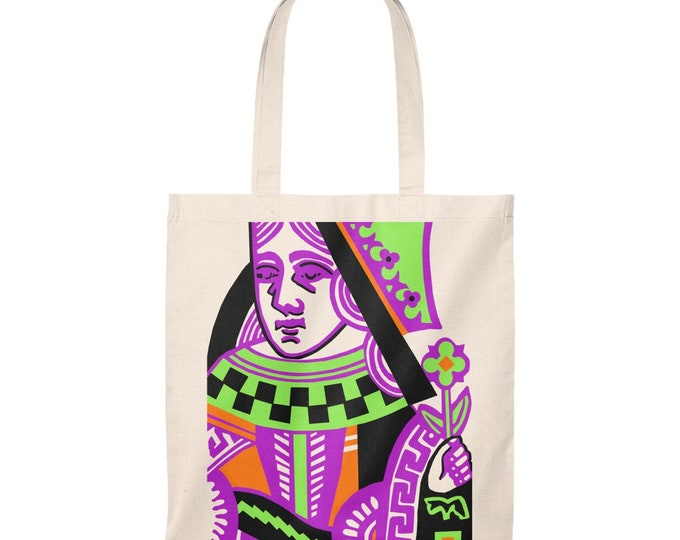 WKiD Tote Bag | Queen of Hearts