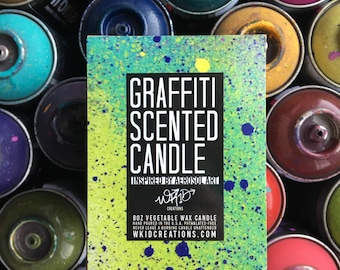 WKiD Graffiti Scented Candle