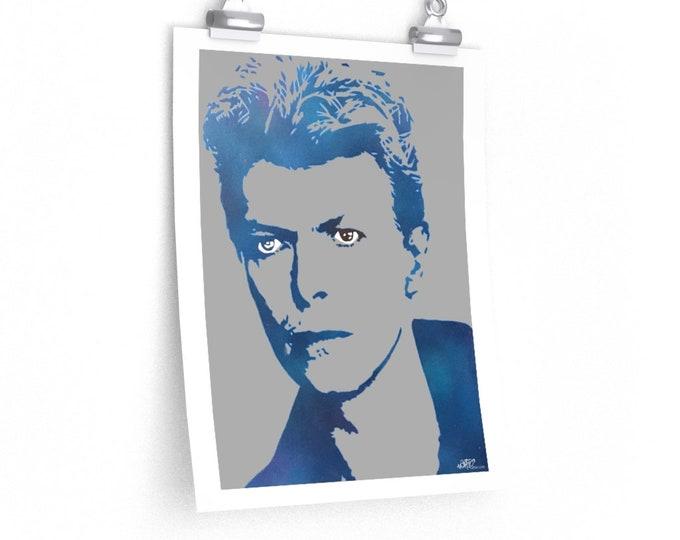 WKiD Premium Matte Print | Bowie