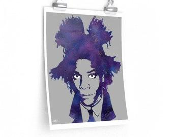 WKiD Premium Matte Print | Basquiat