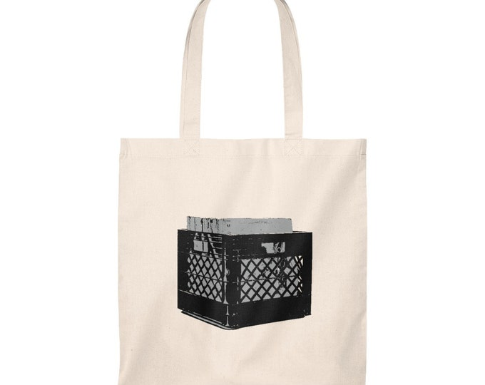 WKiD Tote Bag - Record Crate