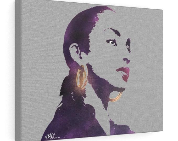 WKiD Canvas Print | Sade