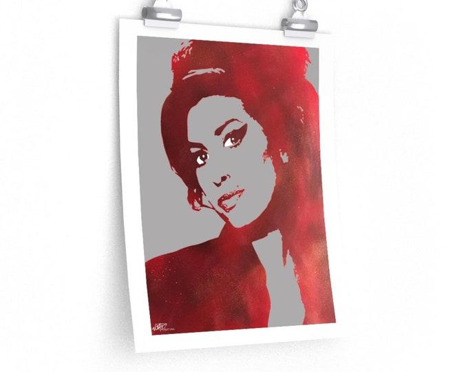 WKiD Premium Matte Print | Amy Winehouse