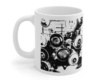 WKiD Mug | Graffiti Cans
