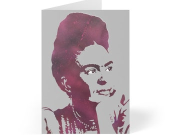 WKiD Greeting Cards (8 pcs) | Frida
