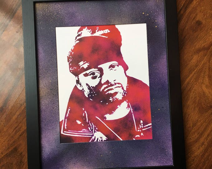 Ghostface Killah Framed Print