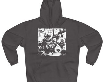 WKiD Hooded Sweatshirt | Graffiti Cans (EUROPE)