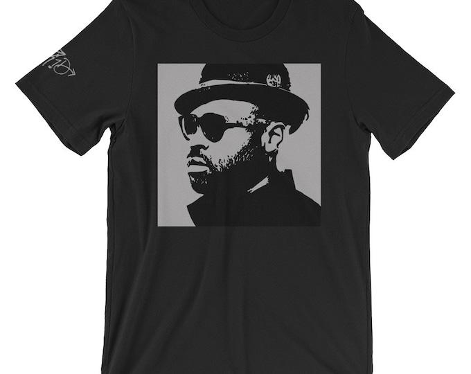 WKiD Unisex Black T-Shirt | Black Thought