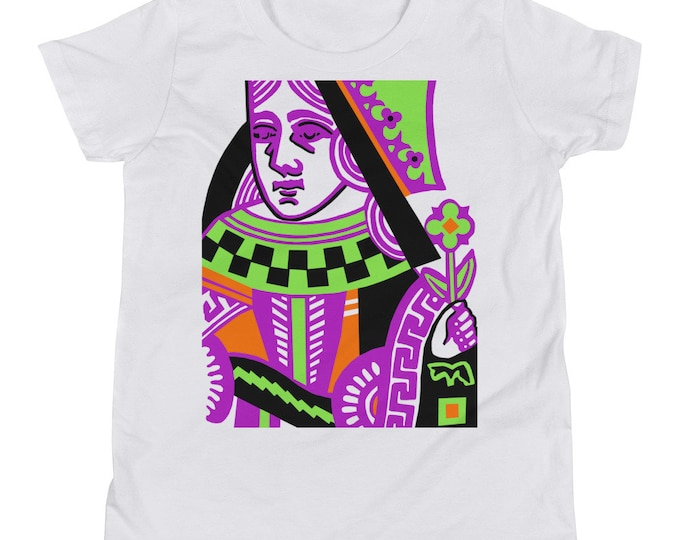 WKiD Youth Short Sleeve T-Shirt | Queen of Hearts