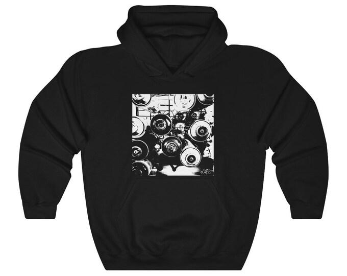 WKiD Hooded Sweatshirt | Graffiti Cans