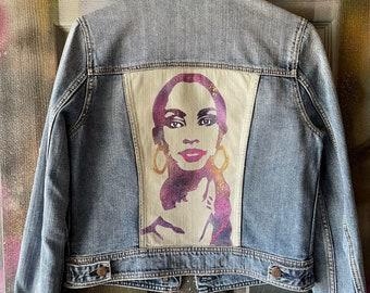 WKiD Women's Custom Denim Jacket   Sade