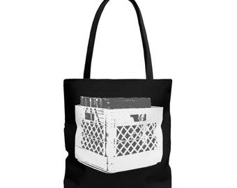 WKiD Tote Bag - Record Crate