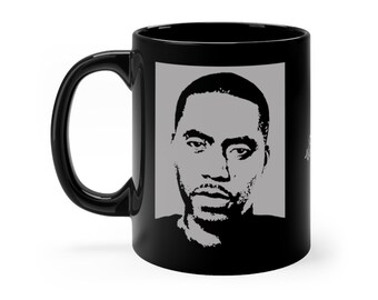 WKiD Black Mug   Nas