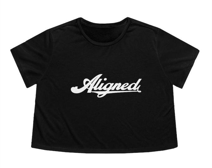 WKiD Women's Flowy Cropped Tee | Aligned