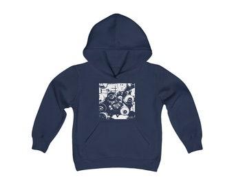 WKiD KiDs Hooded Sweatshirt   Graffiti Cans