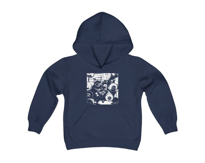 WKiD KiDs Hooded Sweatshirt | Graffiti Cans