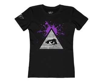 WKiD Women's Tee   Third Eye/Illuminati