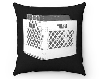 WKiD Pillow | Record Crate