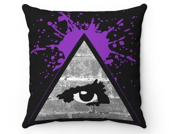 WKiD Pillow | Third Eye/Illuminati (Purple)