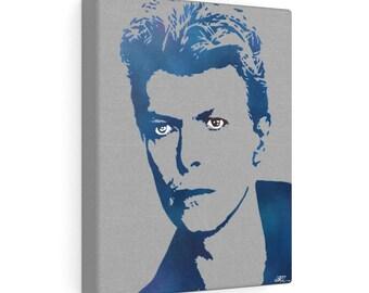 WKiD Canvas Print   Bowie