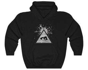 WKiD Hooded Sweatshirt   Third Eye/Illuminati