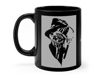 WKiD Black Mug   MF DOOM
