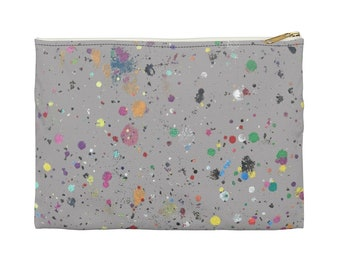 WKiD Accessory Pouch   Paint Splatter