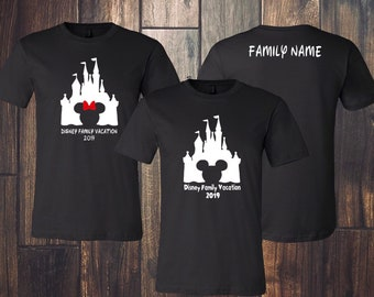 Walt Disney Family Vacation Shirts for Everyone in the family •  Personalized 5e533a21f
